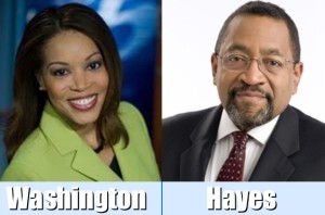 Lisa Washington & Harold Hayes combined photo