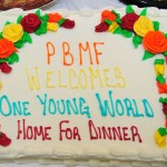 The Cake that was on-display at the Home dinner that was sponsored by the PBMF and held at the Diverse Banquet Hall, located on Kelly Street in Homewood.