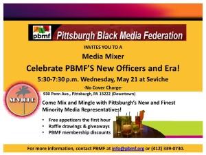 PBMF media mixer flier