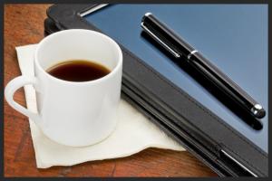 coffee & tech graphic